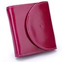 رخيصةأون حقائب الكتف-للمرأة أكياس جلد محفظة للنقد أزرار أسود / أرجواني