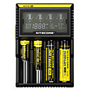 cheap Flashlights & Camping Lanterns-Nitecore D4 Battery Charger Protected Circuit / Short Circuit Protection / Over Charging Protection for Li-ion / Ni-Cd / Ni-MH 10440,14500,16340 (RCR123
