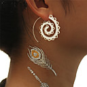 cheap Earrings-Women's Drop Earrings / Hoop Earrings - Wave Vintage, European, Gothic Gold / Silver For Party / Carnival