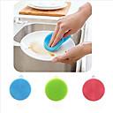 baratos Guarda-Chuva/Sombrinha-escova de limpeza macia de silicone máquina de lavar louça cor sortida
