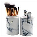 זול סטים של מברשות איפור-10pcs מברשות איפור מקצועי סטי מברשת שיער סינטטי כיסוי מלא פלסטיק