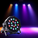 baratos Spinners de mão-U'King Luzes LED de Cenário Luzes PAR LED DMX 512 Master/Slave Ativo por Som automático para De Discoteca Casamento Palco De Festa