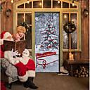 baratos Decoração Natalina-Natal Adesivos de Parede Autocolantes de Aviões para Parede Autocolantes de Parede Decorativos, De madeira Decoração para casa Decalque