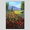 preiswerte Landschaften-Hang-Ölgemälde Handgemalte - Landschaft Modern Segeltuch