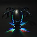 baratos Tanques RC-RC Drone FQ777 FQ28 Canal 4 6 Eixos 2.4G / WIFI Com Câmera HD 2.0MP 1280P*720P Quadcópero com CR Luzes LED / Retorno Com 1 Botão / Modo