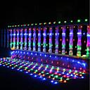 abordables Lámparas LED-3m x2m 200leds casa al aire libre vacaciones de navidad navidad red de la boda de malla de malla de hadas cortina guirnaldas tira luz del partido