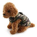 cheap Bakeware-Dog Coat Vest Dog Clothes Camouflage Red Green Blue Pink Camouflage Color Cotton Costume For Pets Men's Women's Casual/Daily