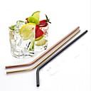 hesapli Drinkware Aksesuarları-drinkware Pipetler Paslanmaz Çelik Taşınabilir Yılbaşı Hediyeleri / Davet / Parti / Kahve