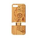 זול מגנים לטלפון & מגני מסך-מגן עבור iPhone 7 Plus / Apple iPhone 8 Plus / iPhone 7 Plus עמיד בזעזועים כיסוי אחורי סיבי עץ קשיח במבוק ל iPhone 8 Plus / iPhone 7 Plus