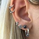 cheap Earrings-Women's Stud Earrings / Ear Cuff - Vintage, Rock Gold / Silver For Going out / Bar
