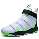 cheap Men's Athletic Shoes-Men's Faux Leather Fall / Winter Comfort Athletic Shoes Basketball Shoes Gray / Black / White / Black / Red