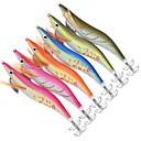 رخيصةأون طعم صيد الأسماك-6 pcs خدع الصيد أدوات الصيد طعم صيد جامد جمبري بلاستيك الغرق الصيد البحري طعم الاسماك إغراء الصيد