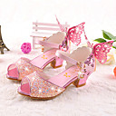 povoljno Dječje sandale-Djevojčice Udobne cipele / Inovativne cipele / Obuća za male djeveruše Mikrovlakana Sandale Mala djeca (4-7s) / Velika djeca (7 godina +) Hodanje Mašnica Obala / Plava / Pink Ljeto / Jesen / Peep Toe