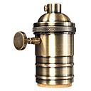 abordables Bloques de Construcción-OYLYW 1pc E26 / E27 Accesorio de la bombilla Enchufe de la luz Metalic