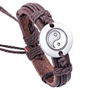 cheap Men's Bracelets-Men's Bracelet - Leather Asian, Classic Bracelet Brown For Gift / Causal