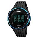 cheap Luxury Watches-SKMEI Men's Digital Sport Watch Chinese Calendar / date / day Water Resistant / Water Proof Noctilucent Stopwatch Dual Time Zones Plastic