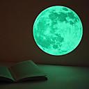 billige 3D-puslespill-Baller Klistremerker Lysende leker Lighting Flourescent Selvlysende Papir Barne Gutt Jente Leketøy Gave