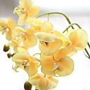 ieftine Flori Artificiale-1 ramură Plastic Orhidee Față de masă flori Flori artificiale