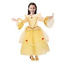 זול פיג'מות קיגורומי-נסיכות אגדה יְפֵהפִיָה שמלות תחפושת למסיבה בגדי ריקוד ילדים חג המולד נשף מסכות יום הולדת פסטיבל / חג תחפושות ליל כל הקדושים צהוב אחיד