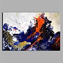 halpa Öljymaalaukset-Hang-Painted öljymaalaus Maalattu - Abstrakti Moderni Kangas