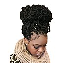 cheap Hair Braids-Braiding Hair Curly Dreadlocks / Faux Locs Synthetic Hair 1pack, 24 roots / pack Hair Braids Medium Length African Braids