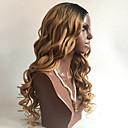 זול פיאות תחרה משיער אנושי-שיער אנושי חלק קדמי תחרה ללא דבק / חזית תחרה פאה שיער ברזיאלי Body Wave פאה תספורת בוב / תספורת שכבות / עם פוני 130% שיער טבעי / בתולה100% / לא מעובד בגדי ריקוד נשים בינוני פיאות תחרה משיער אנושי