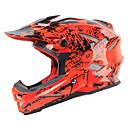 olcso Védőöltözet-kerékpáros sisak / BMX sisak 18 Szellőzőnyílás Műanyag + PCB + Vízálló Epoxy védőhuzat Sport Kerékpározás / Kerékpár / Motorbicikli / Motorkerékpár - Piros / Piros / Fehér / Fekete / vörös Uniszex