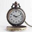 abordables Relojes Deportivo-Hombre Reloj de Bolsillo Japonés Cuarzo 30 m Reloj Casual Aleación Banda Analógico Lujo Vintage Bronce Un año Vida de la Batería