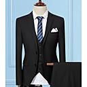 abordables Accesorios para Hombre-Hombre Largo trajes Un Color / Manga Larga / Trabajo