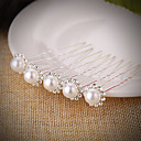 cheap Party Headpieces-Imitation Pearl Rhinestone Hair Pin Hair Stick with Rhinestone Imitation Pearl 5PCS Wedding Headpiece