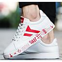 tanie Adidasy męskie-Męskie Komfortowe buty PU Wiosna / Jesień Adidasy Czerwony / Niebieski / Czarny biały