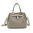 cheap Shoulder Bags-Women's Bags Canvas Shoulder Bag Zipper Gray