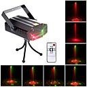 tanie Oświetlenie sceniczne-U'King Światło sceniczne laserowe DMX 512 / Master-Slave / Aktywowana Dźwiękiem na Obuwie turystyczne / Impreza / Scena Profesjonalny / a