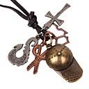 preiswerte Halsketten-Herrn Anhängerketten - Kreuz, Scheren Retro Bronze Modische Halsketten Schmuck 1 Für Geburtstag, Geschenk