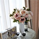 preiswerte Kunstblume-Künstliche Blumen 1 Ast Modern Pfingstrosen Tisch-Blumen