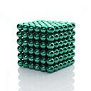 tanie Naklejki ścienne-216 pcs 3mm Zabawki magnetyczne Blok magnetyczny / Kulki magnetyczne / Klocki קלאסי Błyszczące Prezent