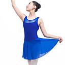 preiswerte Ballettbekleidung-Ballett Kleider Damen Leistung Elasthan Kombination Ärmellos Normal Kleid