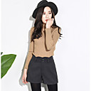 cheap Earrings-Women's Cotton Shorts Pants - Solid Colored / Fall / Winter