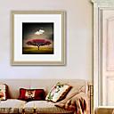 ieftine Acțibilde de Perete-Peisaj Floral/Botanic Ilustrație Wall Art,PVC Material cu Frame For Pagina de decorare cadru Art Sufragerie Dormitor Bucătărie Cameră