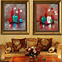 ieftine Montaj Flush-Animale Pictură ulei Wall Art,Plastic Material cu Frame For Pagina de decorare cadru Art Interior