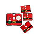 זול מגנים לטלפון & מגני מסך-4pcs Christmas קישוטים לחג המולד, קישוטים לחג 33*45
