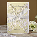 cheap Wedding Invitations-Gate-Fold Wedding Invitations 50pcs - Invitation Cards Invitation Sample Mother's Day Cards Baby Shower Cards Bridal Shower Cards