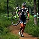 cheap Cycling Jersey & Shorts / Pants Sets-Nuckily Men's Short Sleeve Cycling Jersey with Shorts - Black Bike Shorts / Jersey / Padded Shorts / Chamois, Breathable, 3D Pad, Anatomic Design, Ultraviolet Resistant, Reflective Strips Polyester