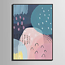 cheap Swing Arm Lights-Framed Canvas / Framed Set - Abstract PVC Illustration