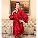 cheap DVR Kits-Women's Ultra Sexy Satin & Silk Pajamas-Stylish,Solid