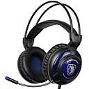 זול Headsets & Headphones-SADES SA-805 רצועת ראש חוטי אוזניות דִינָמִי פלסטי גיימינג אֹזְנִיָה עם מיקרופון אוזניות