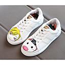 baratos Sapatos de Menina-Para Meninas Sapatos Couro Ecológico Primavera Conforto Tênis para Branco / Preto