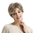 cheap Human Hair Capless Wigs-Human Hair Capless Wigs Human Hair Natural Wave Pixie Cut Side Part Highlighted/Balayage Hair Short Machine Made Wig Women's
