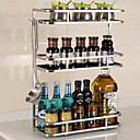 preiswerte Gardinen-Edelstahl Leichte Bedienung Kreative Küche Gadget Kochgeschirrhalter 1pc Küchenorganisation