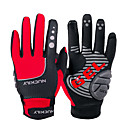 cheap Bluetooth Car Kit/Hands-free-Nuckily Bike Gloves / Cycling Gloves Mountain Bike Gloves Touch Screen Reflective Adjustable Waterproof Sports Gloves Winter Fleece Silicone Gel Mountain Bike MTB Road Bike Cycling Red Gray Yellow for